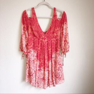 Free People |  Pink Summer Dress | Size Small